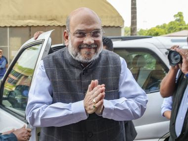 File photo of Home Minister Amit Shah. PTI