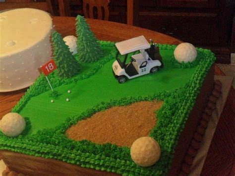 Golf Theme Groom's Cake   Groom's Cakes   Golf grooms cake
