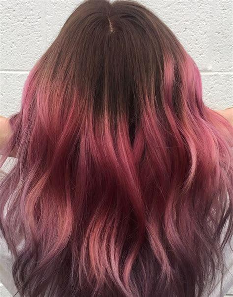 brown hair  highlights   glam