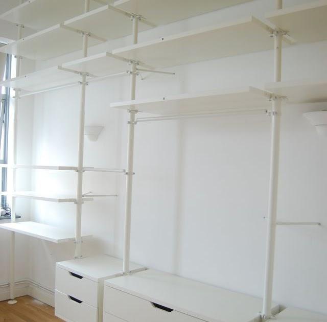 Ikea Cabina Armadio Planner.Casa Moderna Roma Italy Ikea Stolmen Planner