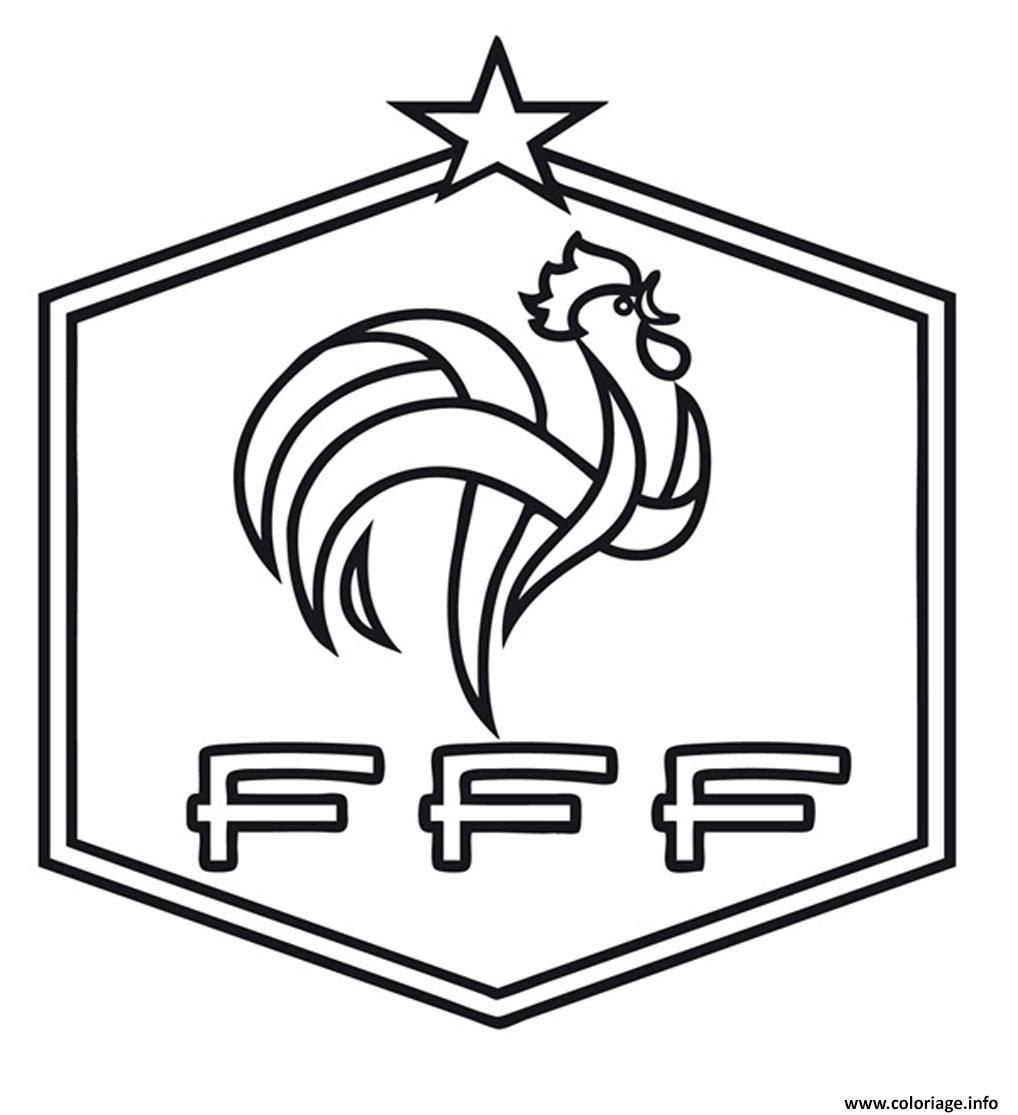 Coloriage De Foot Facile.Meilleur Selectionne Coloriage De Foot France Coloriage A