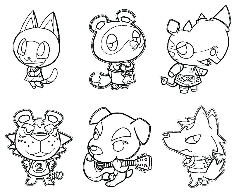 Animal Crossing Drawing at GetDrawings | Free download
