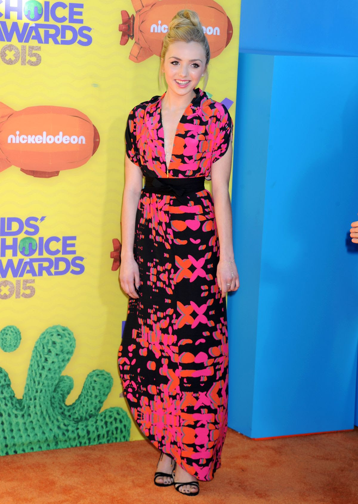 PEYTON LIST at 2015 Nickelodeon Kids Choice Awards in Inglewood
