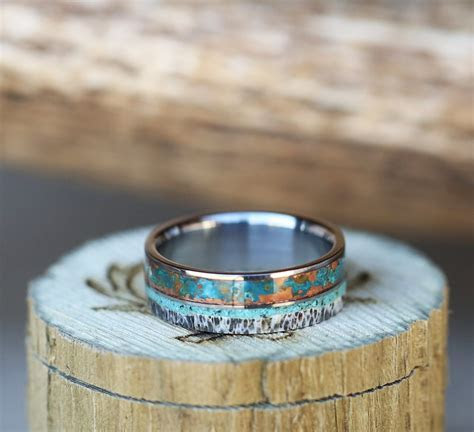 Staghead Designs   Design Custom Wedding Bands   Wood
