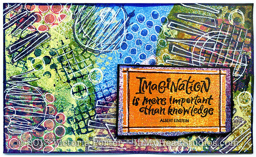 """""""Imagination Is More Important Than Knowledge"""" ICAD : 7-6-13"""
