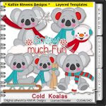 Cold Koalas Layered Templates - CU