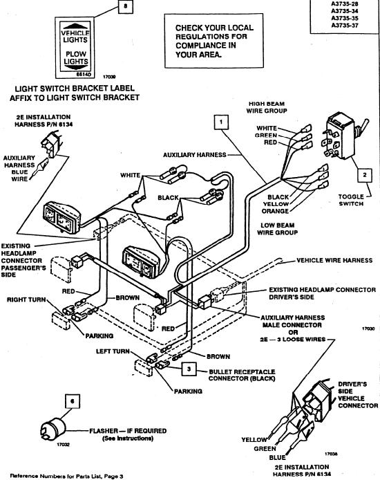 Madcomics Meyer Snow Plow Wiring Harness, Meyer Plow Wiring Diagram