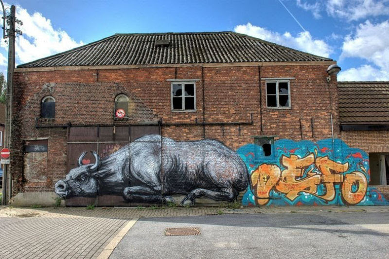 A vila condenada de Doel e sua arte de rua surpreendente 02