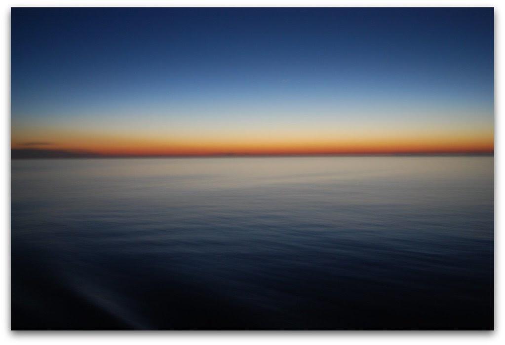 Colori del tramonto in Costa Brava