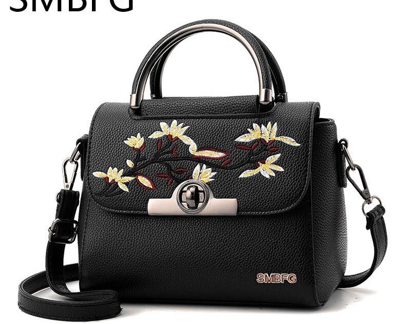 22395a98b936 Купить Женская кожаная сумка из ПУ кожи женская через плечо дизайнерская  высокого качества с вышивкой Цена Дешево | msvsssv