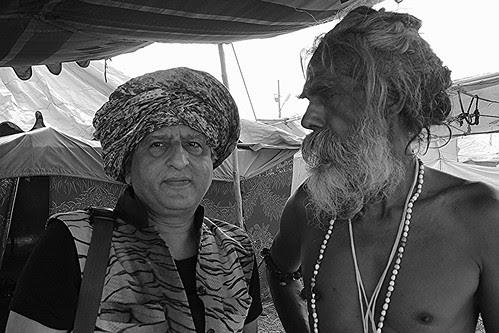 The Malang And The Naga Sadhu Maha Kumbh by firoze shakir photographerno1