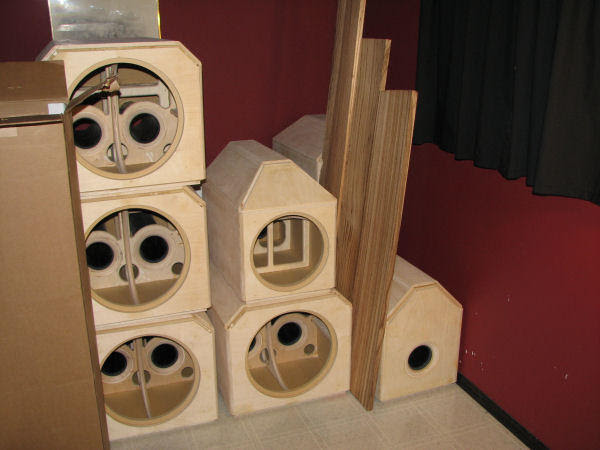 Custom Home Theater Subwoofer Enclosures Design And Ideas