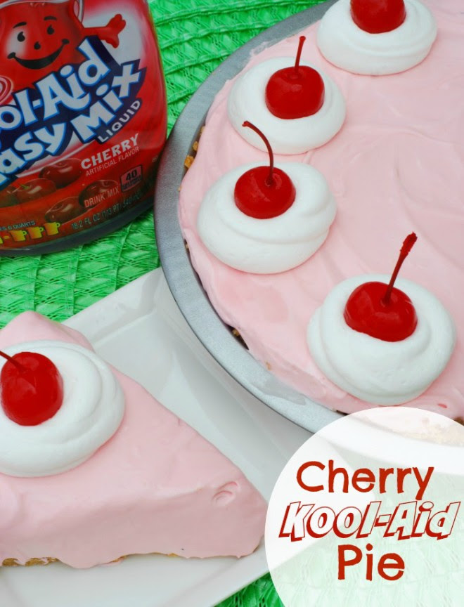 Cherry Kool-Aid Pie - HMLP #35 Feature