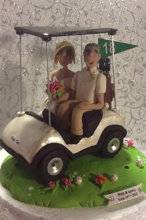 Golf wedding cake topper   Wedding   Pinterest   Wedding