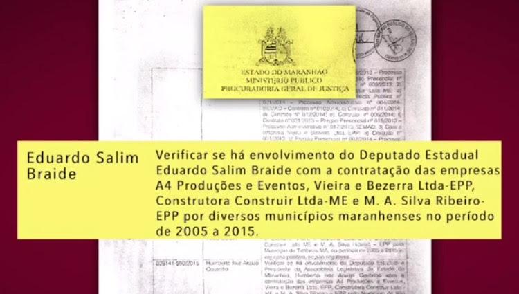 CAI A MÁSCARA: MP INVESTIGA BRAIDE EM ESQUEMA DE CORRUPÇÃO