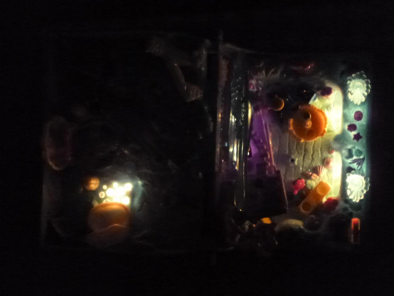 Polly Pocket antiga iluminada