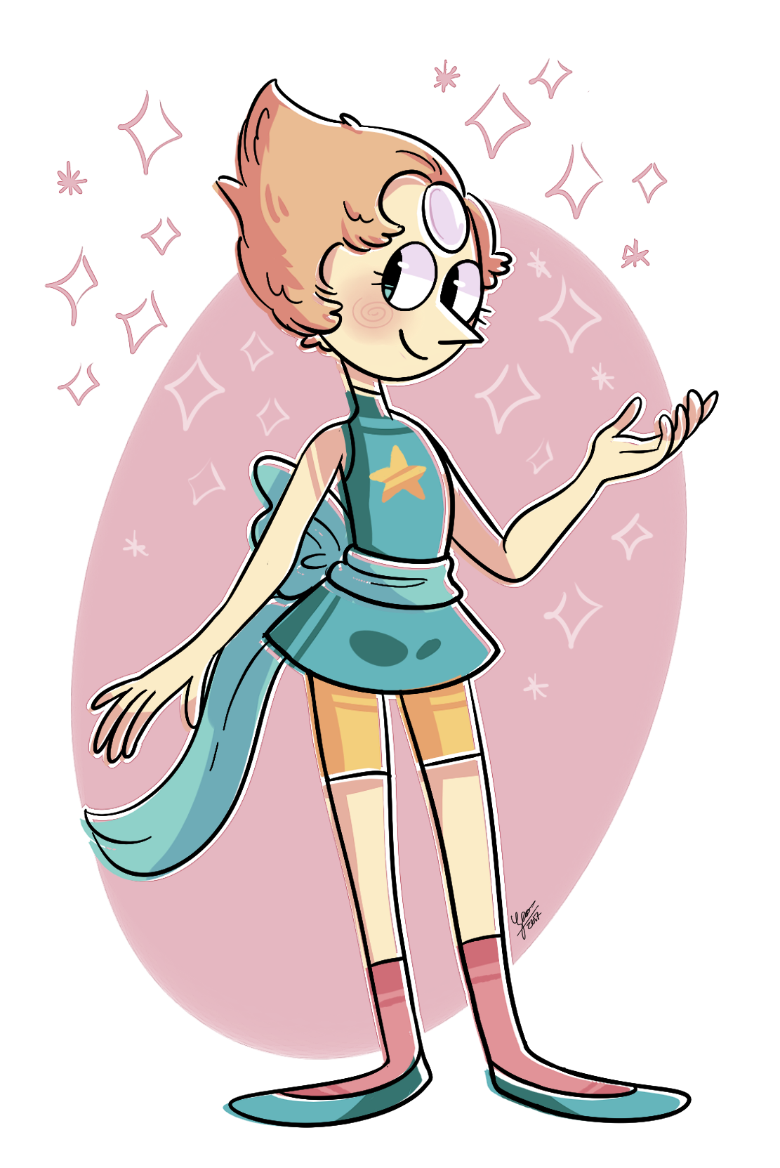 Pearl doodle