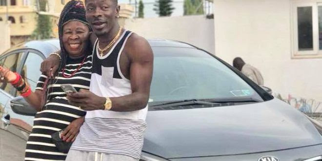 Image result for shatta wale and mum