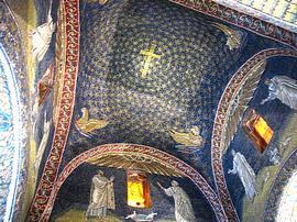 La volta del Mausoleo di Galla Placidia