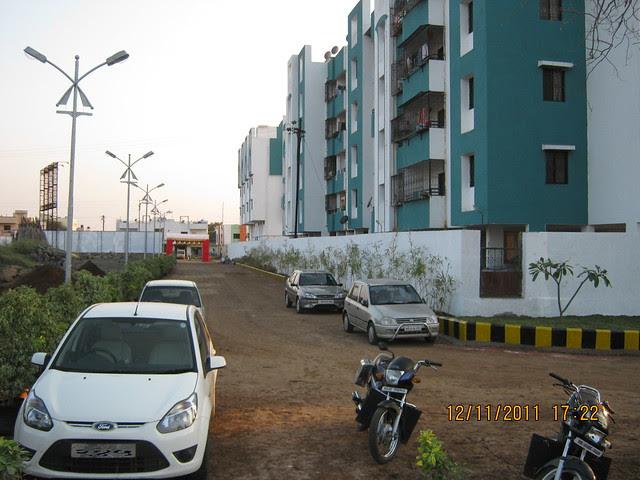 Main Entrance of Pankaj Aasmaan  on Lohegaon Wagholi Road at Lohegaon Pune 411 047
