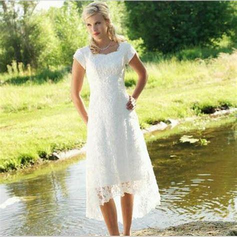 2015 Vintage Lace vestidos novia boho beach Country