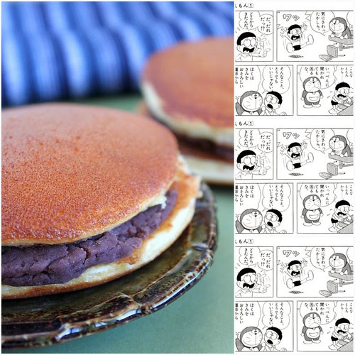 Dorayaki Collage