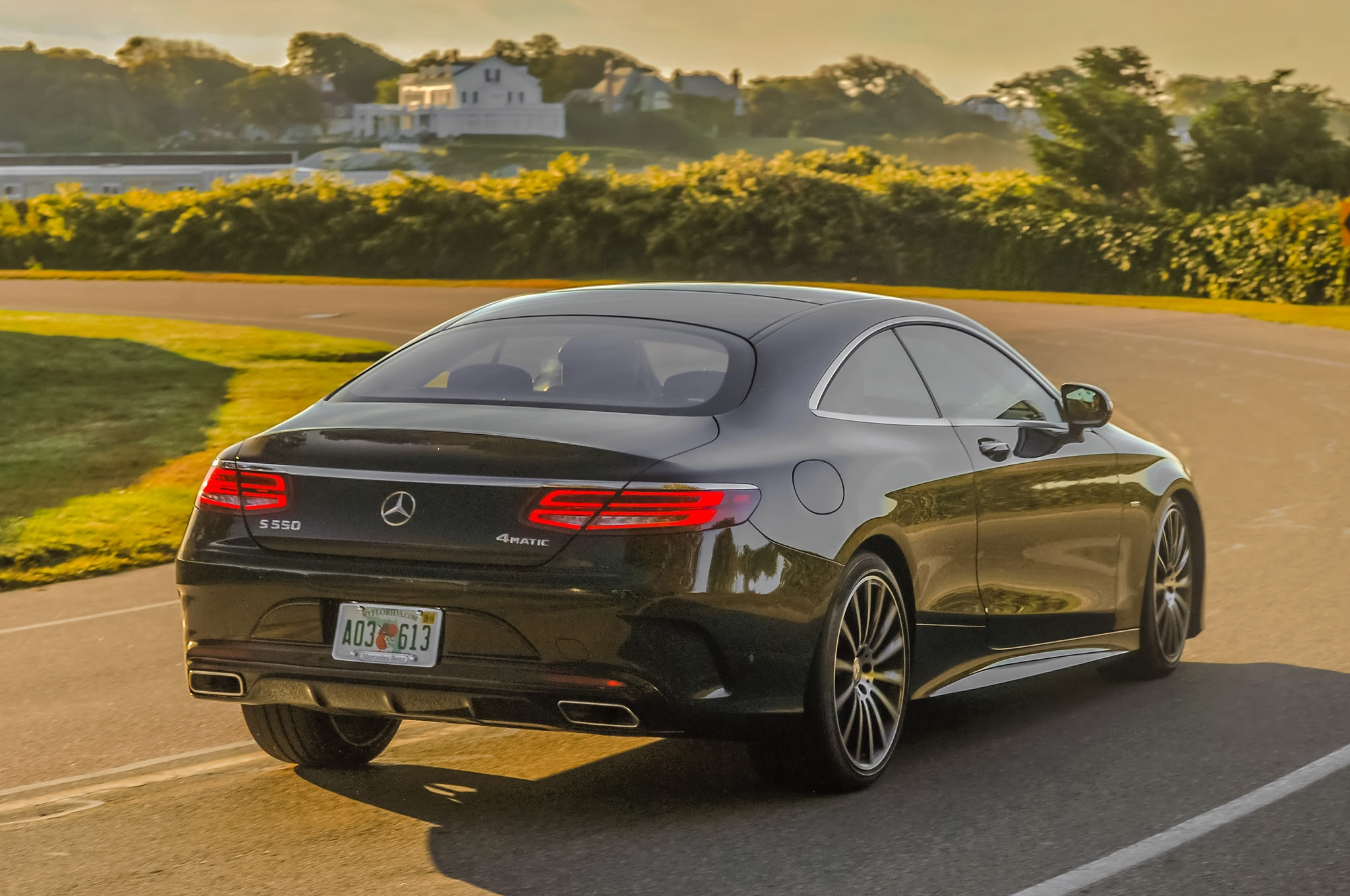 2015 Mercedes-Benz S550 4Matic Coupe Review
