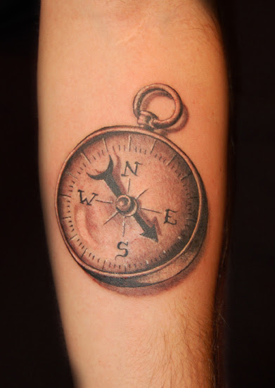 Old Compass Tattoo Traffic Club
