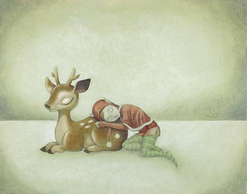 WIP 3 - Reindeer & Elf