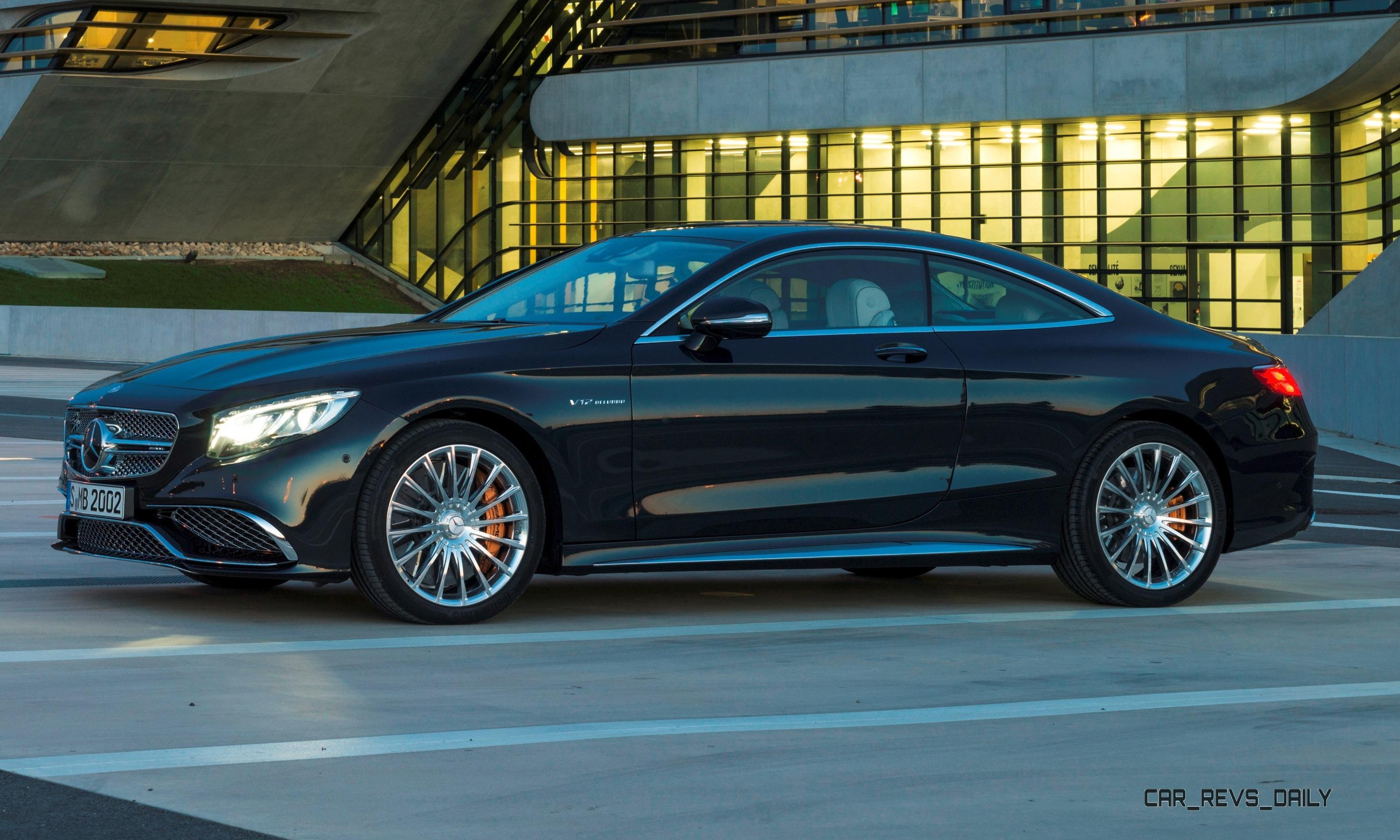 630HP V12 2015 Mercedes-Benz S65 AMG Coupe Has Arrived!