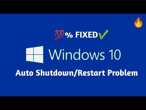 [SOLVED] Windows 10 Auto Shutdown/Restart Problem (Hindi) || Skilled Insaan