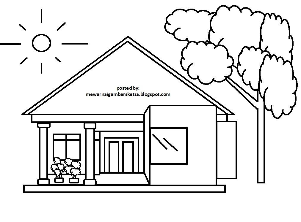 Sketsa Lomba Mewarnai Pemandangan Alam Auto Electrical Wiring Diagram