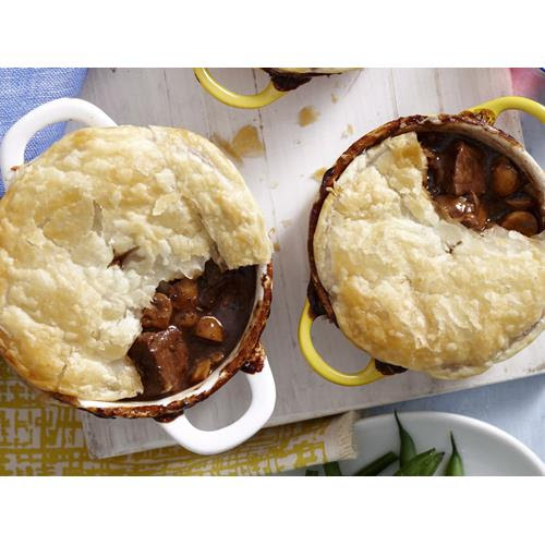 Steak and kidney individual pies recipe | Food To Love