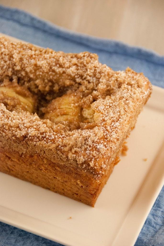 Apple Kuchen 4 685x1024 Apfelkuchen ( Bavarian Apple Cake) for #TwelveLoaves