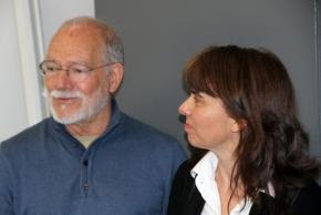 Luandino Vieira e Margarida Calafate Ribeiro
