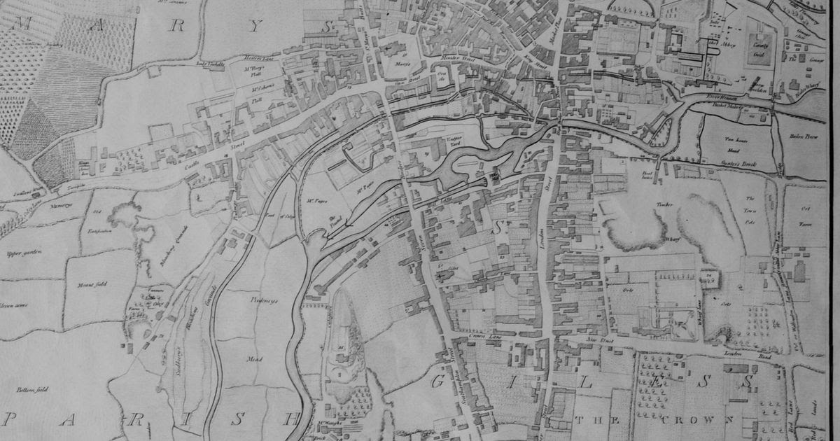 Exploring Fascinating Old Maps Of Reading Get Reading