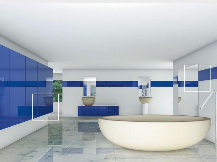 Glass decorative wall panel - SUPREME - Marvel GmbH