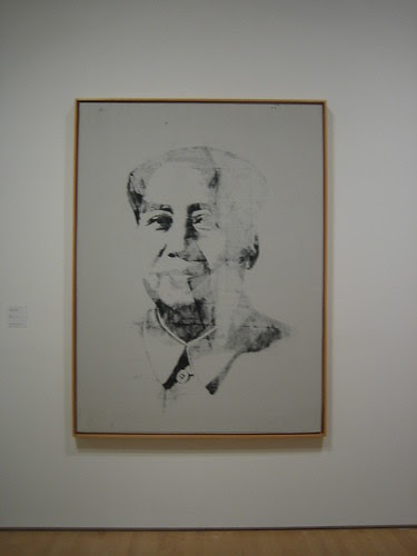 Mao, 1972, Silkscreen ink on canvas, Andy Warhol, 1928-1987 // Calder to Warhol: Introducing to Fisher Collection, SFMOMA _6630