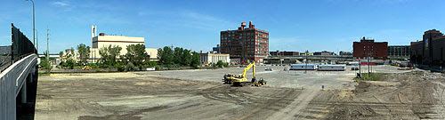 Work starting on the new Twins ballpark