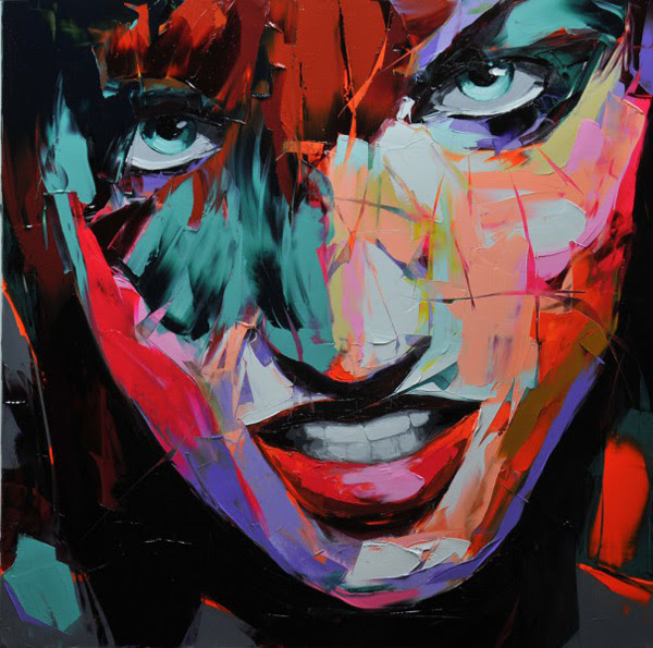 New Portraits by Françoise Nielly painting art