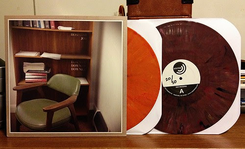Hospital Job - Downer Downer Downer LP - Orange Vinyl & Purple Vinyl Test Pressing (/50) by Tim PopKid