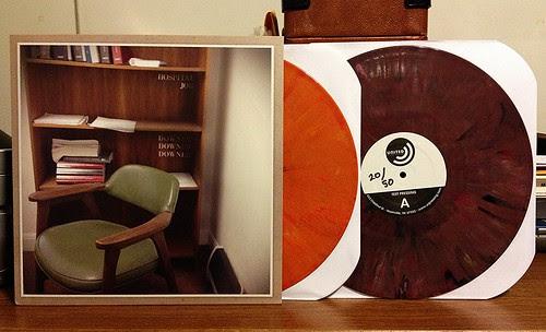Hospital Job - Downer Downer Downer LP - Orange Vinyl & Purple Vinyl Test Pressing (/50) by Tim PopKid
