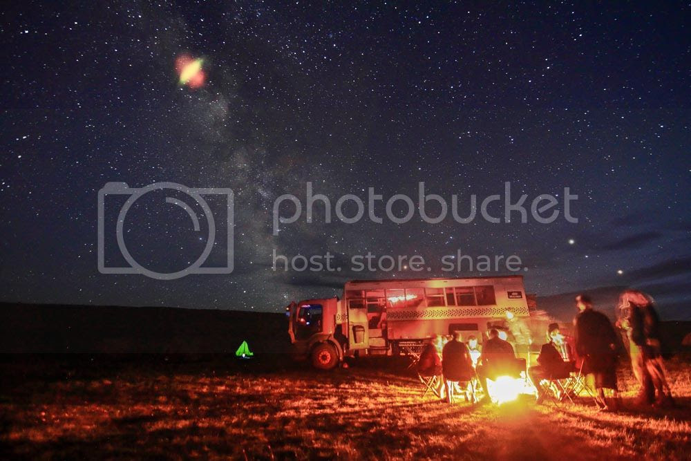 Camping in the Steppes of Mongolia