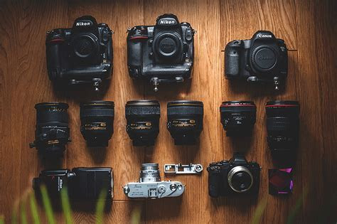 The most popular wedding photography gear as well as the