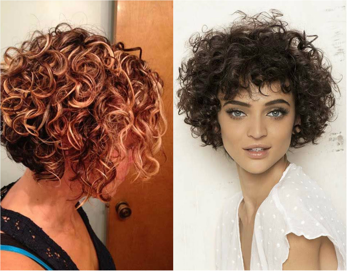 short bob hairstyles for curly hair