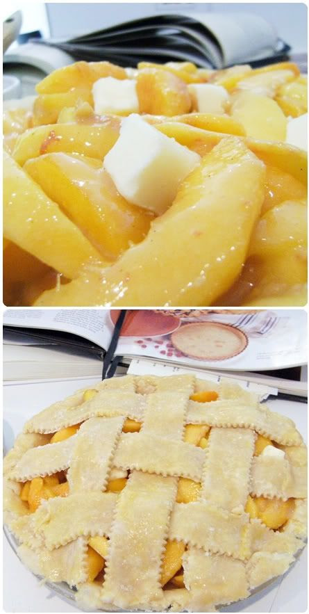 peach pie filled