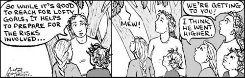 Home Spun comic strip #484