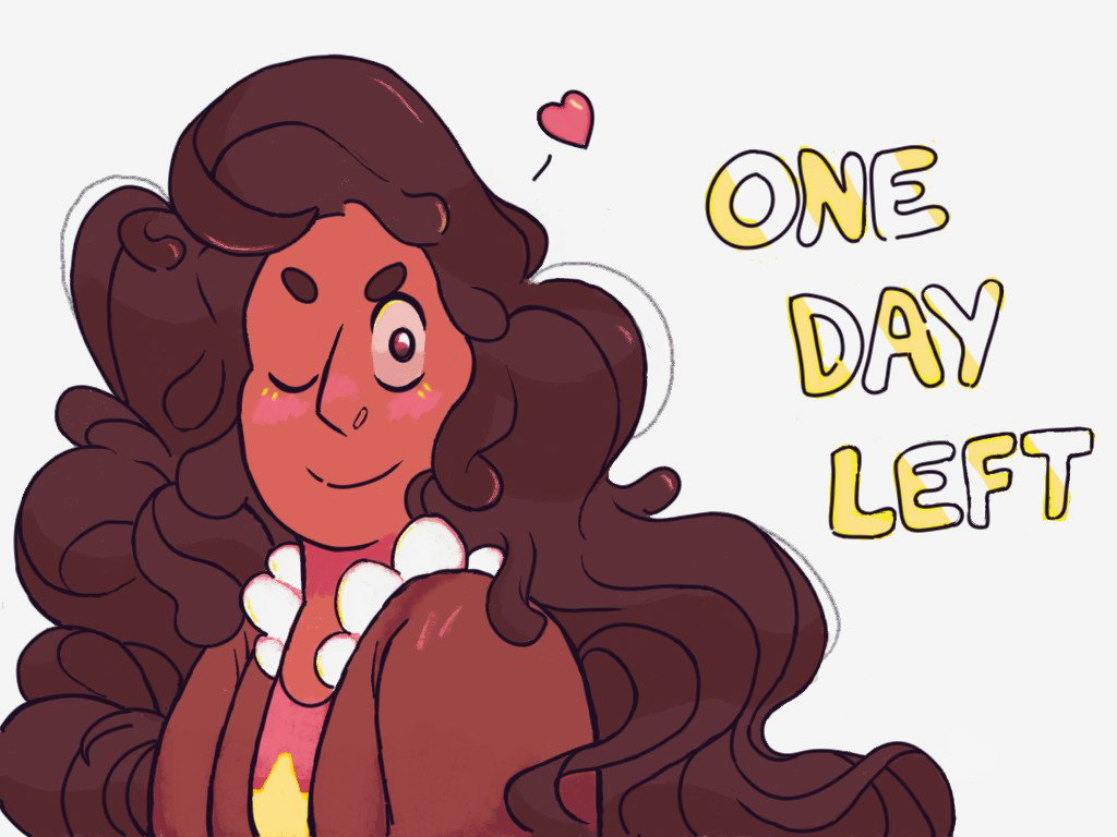 the summer of steven starts tomorrow!!!