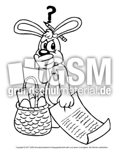 osterhase zum ausmalen pdf  ausmalbilder ostern osterhase