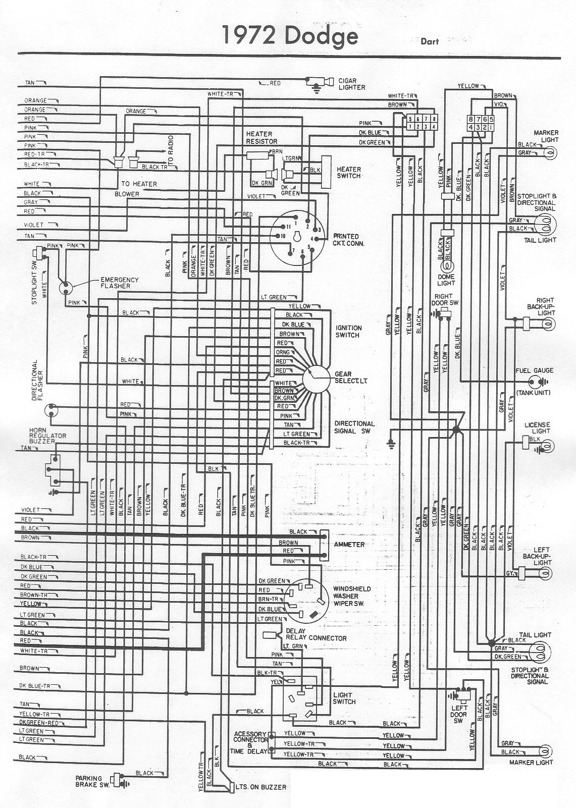 1972 Dodge Wiring Diagram Wiring Diagram Visual Visual Cfcarsnoleggio It